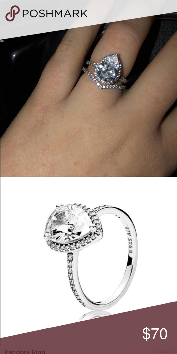 e04088cbe ... where to buy pandora radiant teardrop ring size 6 worn for about a week  and thats