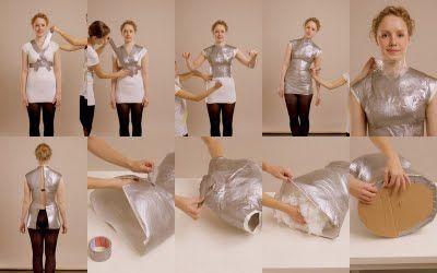 COSER Y CANTAR...!!  ¿Cómo hacer un maniquí de tu silueta?