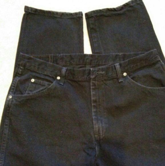 Black Boots Jeans Men