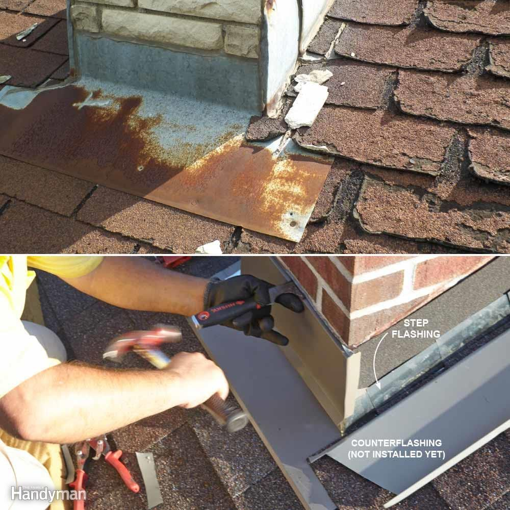 Lovely Flashing On Roof Leaking
