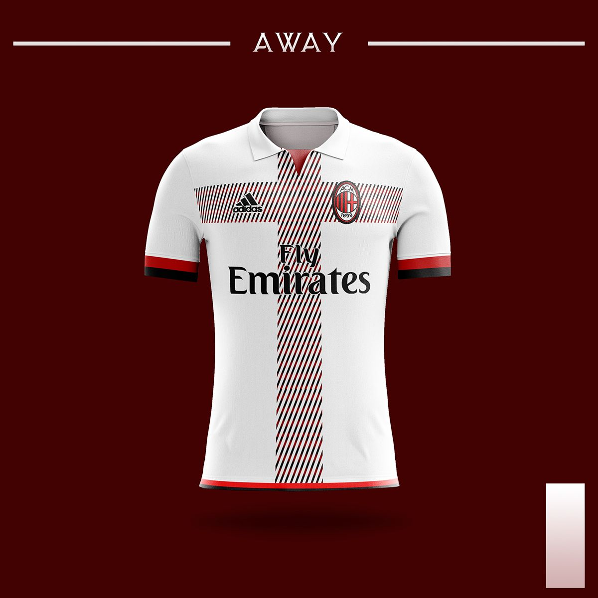 AC Milan Kits 2018-2019. By   Mostafa Elbahrawy. on Behance ... 92f2cca2e26ea