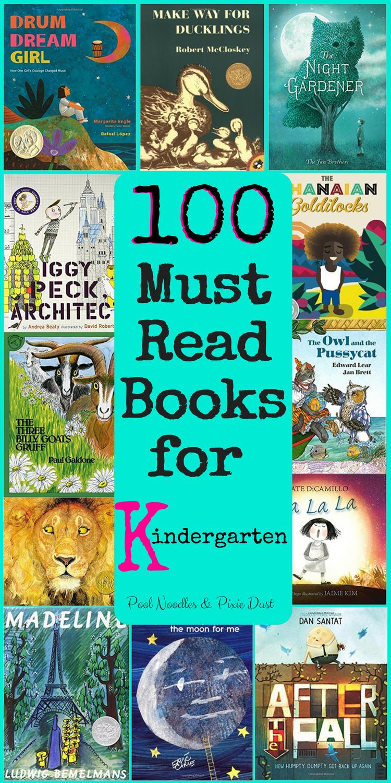 100 Must Read Books for Kindergarten   Homeschool: Reading ...