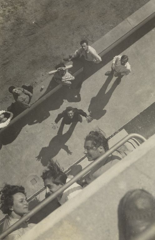 [View from the Bauhaus roof].; T. Lux Feininger (American, born Germany 1910 - 2011); about 1929