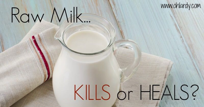 Does raw milk kill or have powerful healing properties?