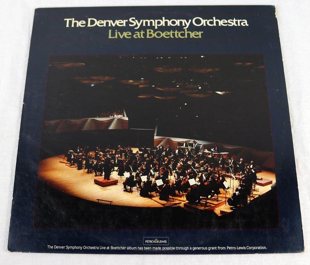 Denver Orchestra: Denver Symphony Orchestra 1983 Live At Boettcher Vinyl LP
