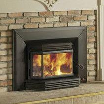Osburn 2200 Large Bay Window Wood Burning Insert Wood Burning