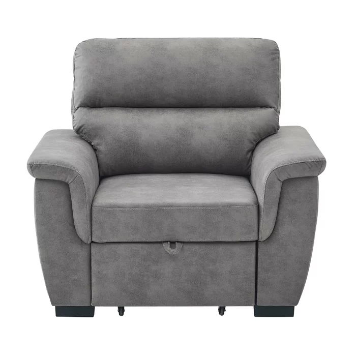 Astala Pull Out Single Convertible Chair In 2020 Single Sofa Bed Chair Armchair