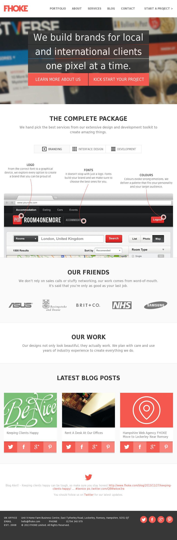 Romsey Web Designers Hampshire From Website Design Agency Fhoke