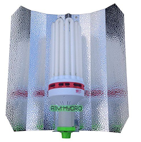 Omega 300w CFL Grow Lamp CFL Dual Spectrum Lamps have both Blue spectum (6400K) and Red Spectrum (2700K). Ideal for: Propagation Cuttings Vegetative & Flowering Stages. CFL bulbs do not require a ba...