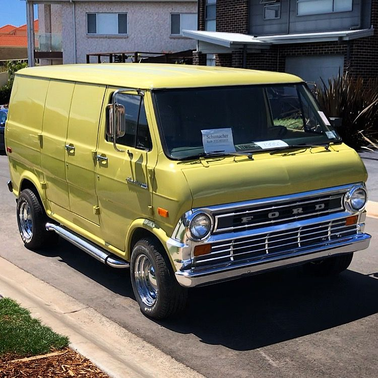 70 S Custom Ford Van With Images Classic Ford Trucks Ford Van