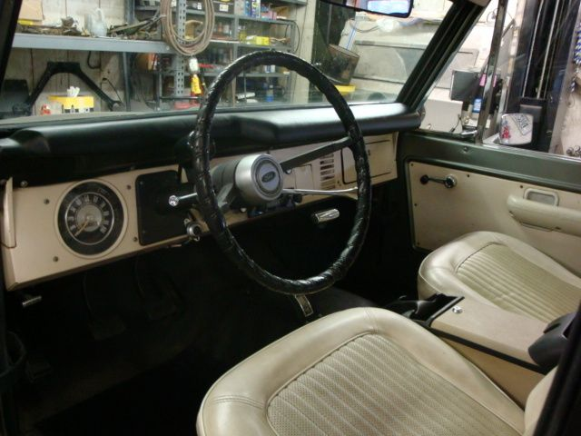 Picture Of 1970 Ford Bronco Interior Ford Bronco Broncos