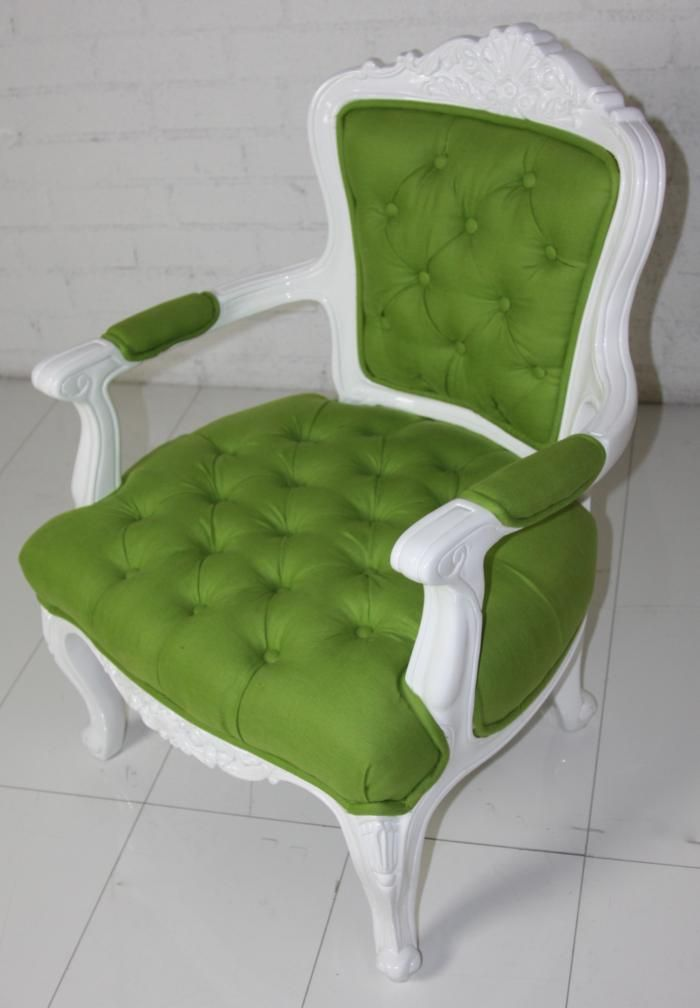 Accent Chairs Green