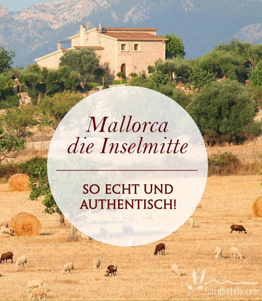 Die Insel Mallorca von ihrer schönsten Seite fernab von den quirligen Touristenmetropolen zeigt Mallorca in der Inselmitte ihr wahres Gesicht