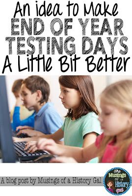 A Fun Idea for End of Year Tests   Test Prep for Upper