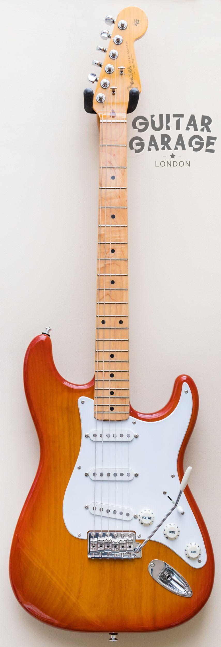 Fender Stratocaster Sienna Burst '59