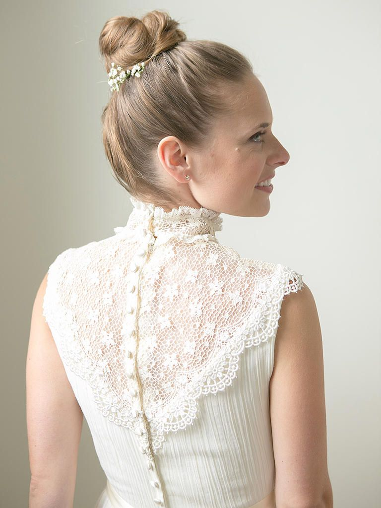 22 Vintage Wedding Hairstyles for Old School Brides | Fresh flowers ...