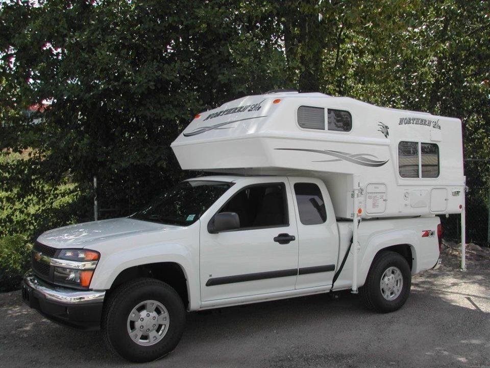6 10 Ultra Lite Truck Camper Chevy Colorado Truck Camper Gmc