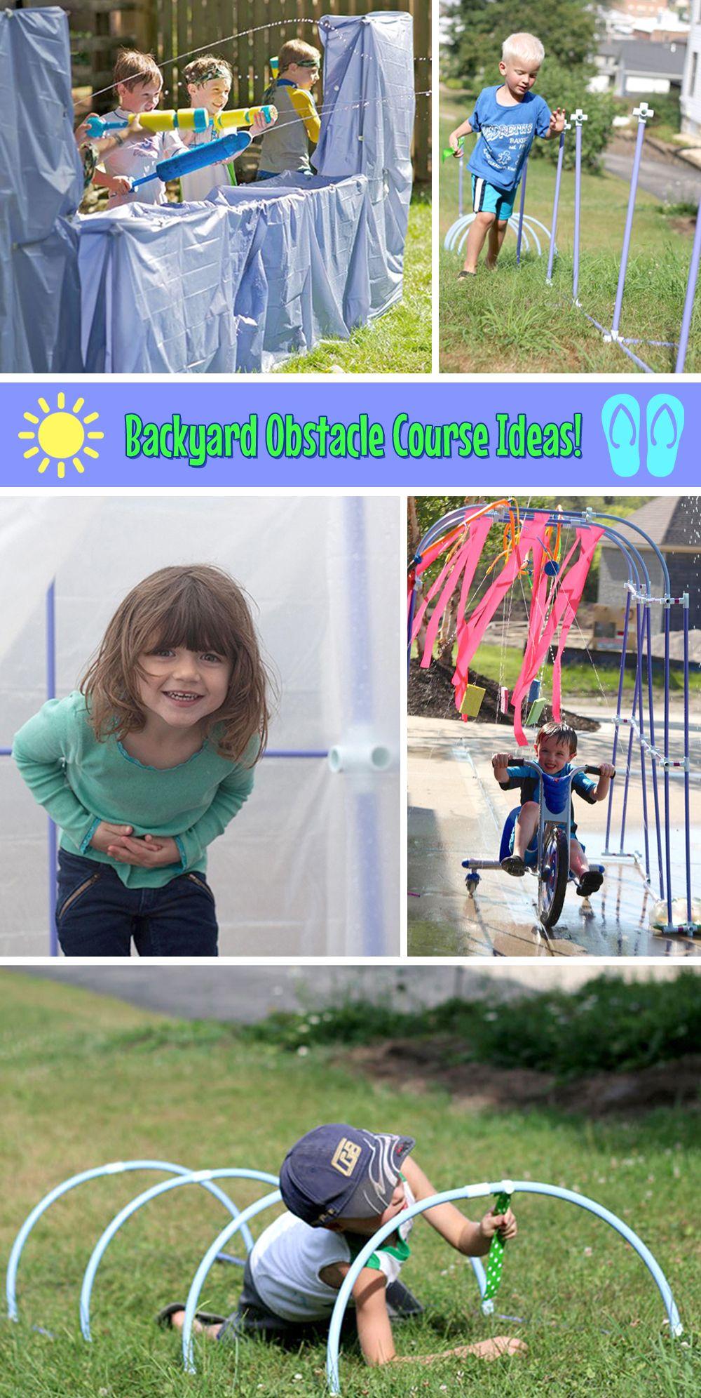 Backyard Obstacle Course Ideas – Pinterest