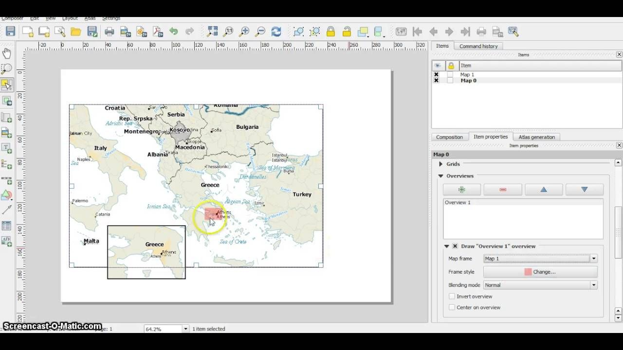 Qgis Sub Map Overview In Qgis Map Submarine Vintage World Maps