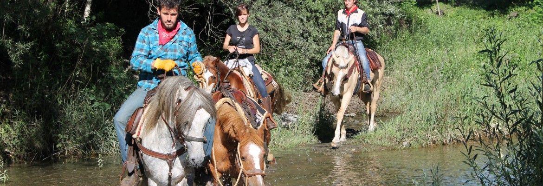 Guadando il torrente Venina