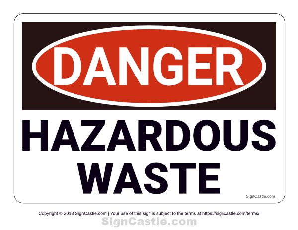 Free Printable Hazardous Waste Danger Sign Download It At Https Signcastle Com Download Hazardous Waste Danger Sign Signs Danger Sign Hazardous Waste