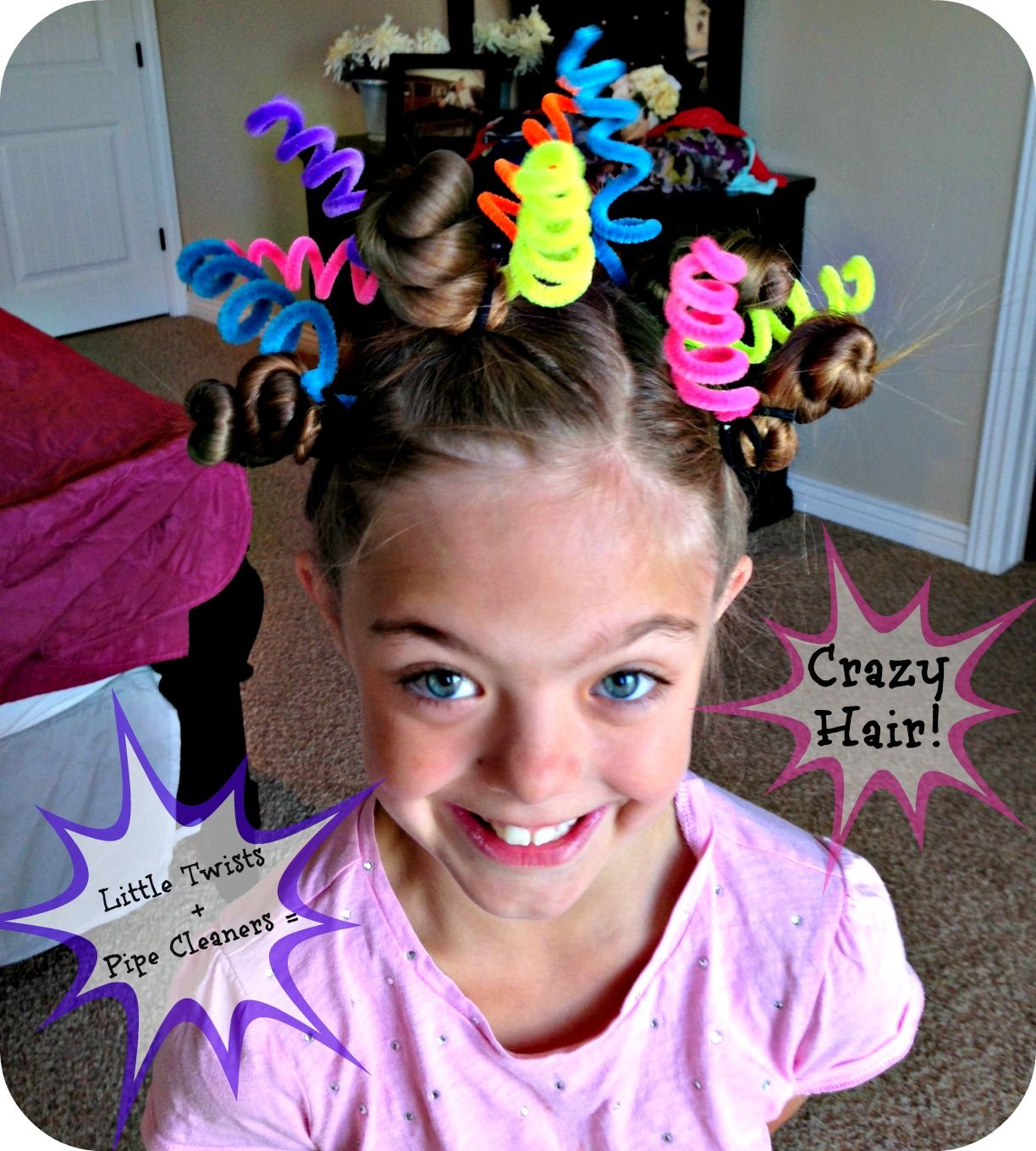 Crazy Hair Day My Sister Could Do This She Has Super Long Hair
