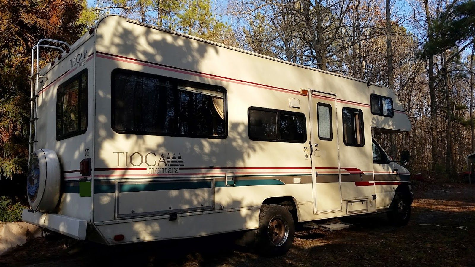 The Tioga Project 1994 Tioga Montara By Fleetwood The Beginning Rv Remodel Motorhome Remodel Recreational Vehicles