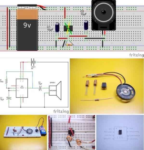 Learn Electronics 10 Great Breadboard Projects For Beginners Http