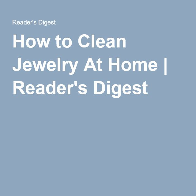 How To Clean Jewelry At Home: 12 Household Items That Work