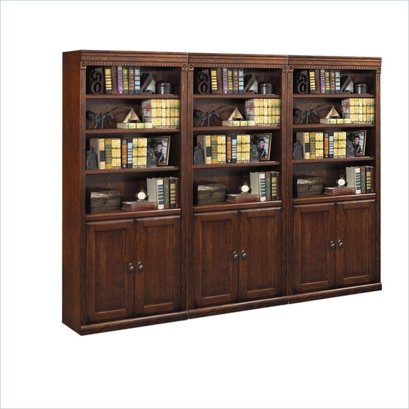 Martin Furniture Huntington Oxford Wall Bookcase With Images