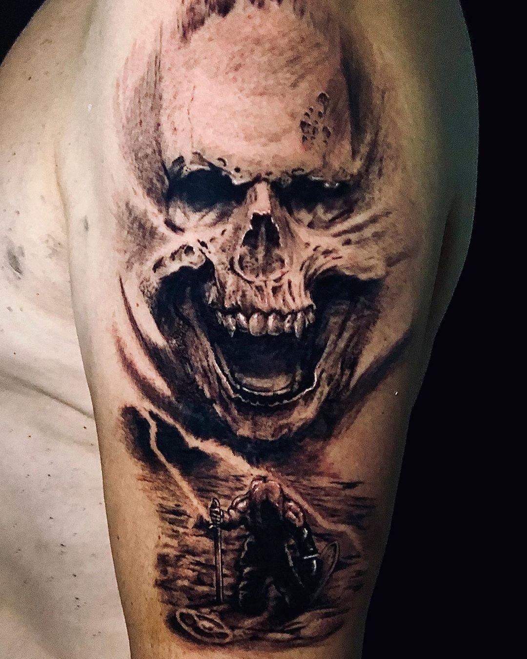 "Яɛ∂  Яσcκ  Ƭαттoσ  Ƨтʋ∂ισ on Instagram: ""#tatuaje #tattoo #ink #inked #tattoos #tattooed #tatuajes #tattooartist #art #tattooart #spain #tattoolife #inkedup #tattooing  #tattooist…"""