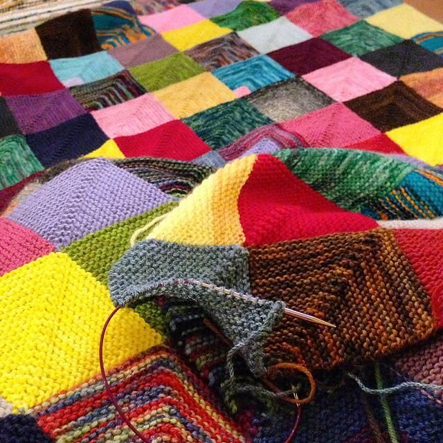Bust your stash with one big project! These blankets will clear out your scraps in no time.