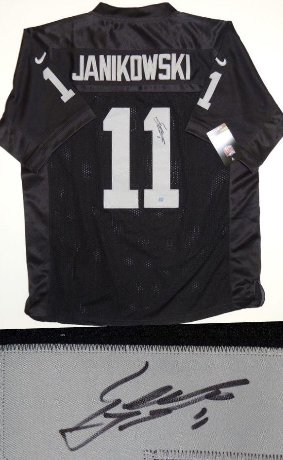 8d4364fbc AAA Sports Memorabilia LLC - Sebastian Janikowski Autographed Oakland  Raiders Authentic Jersey