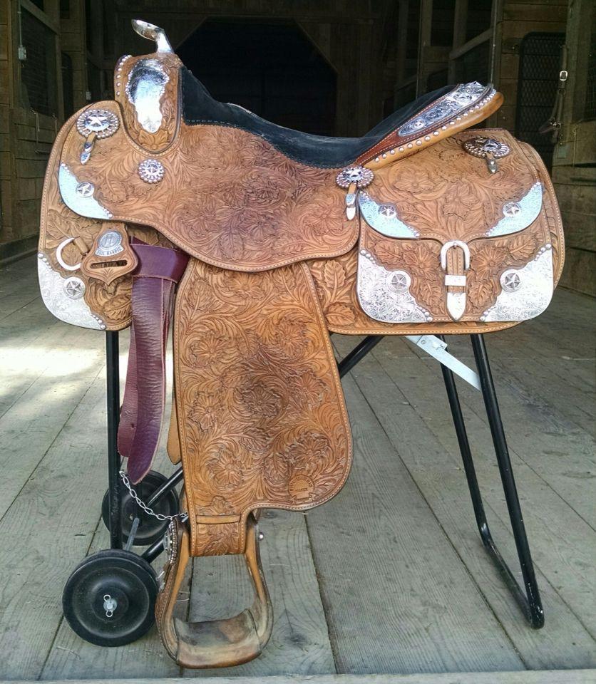Harris Saddle For Sale At Www Equineauctionexchange Com Aqha Quarter Horse Apha Quarter Horse Congress Barrel Saddle Western Saddle Saddles