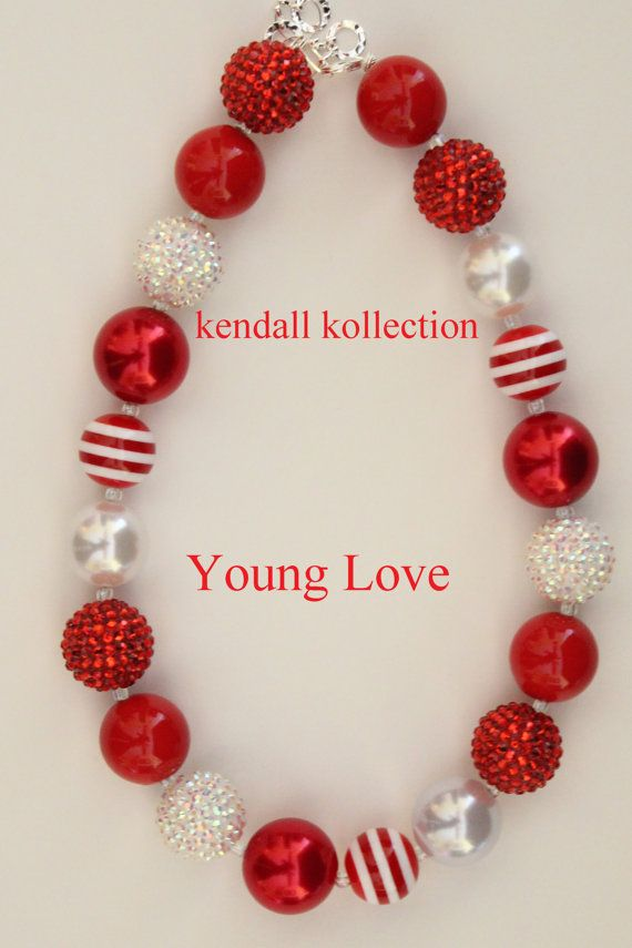 Young Love Necklace is a beautiful red necklace. It has the right amount of sparkle and bling to please everyone!    Necklace is 19-20