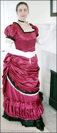 Patterns Used  - Truly Victorian TV460 1885 Cuirass Bodice. - Truly  Victorian TV365 1883 August Overskirt. - Truly Victorian TV261-R 1885  Four-Gore ... 71fb8fcc1