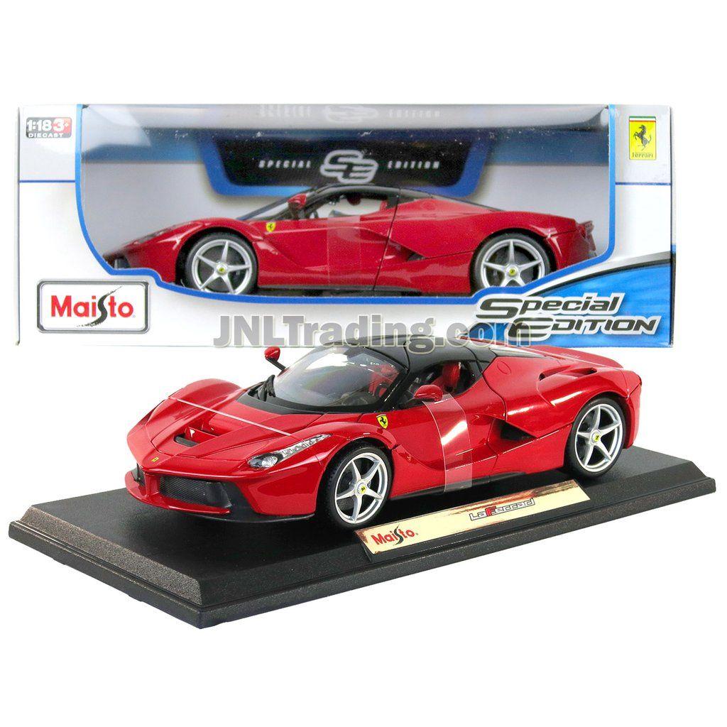 Maisto Special Edition Series 1 18 Scale Die Cast Car Red Sports Car Laferrari W Display Base Dimension 10 X Autos Autos A Escala Accesorios Para Iphone