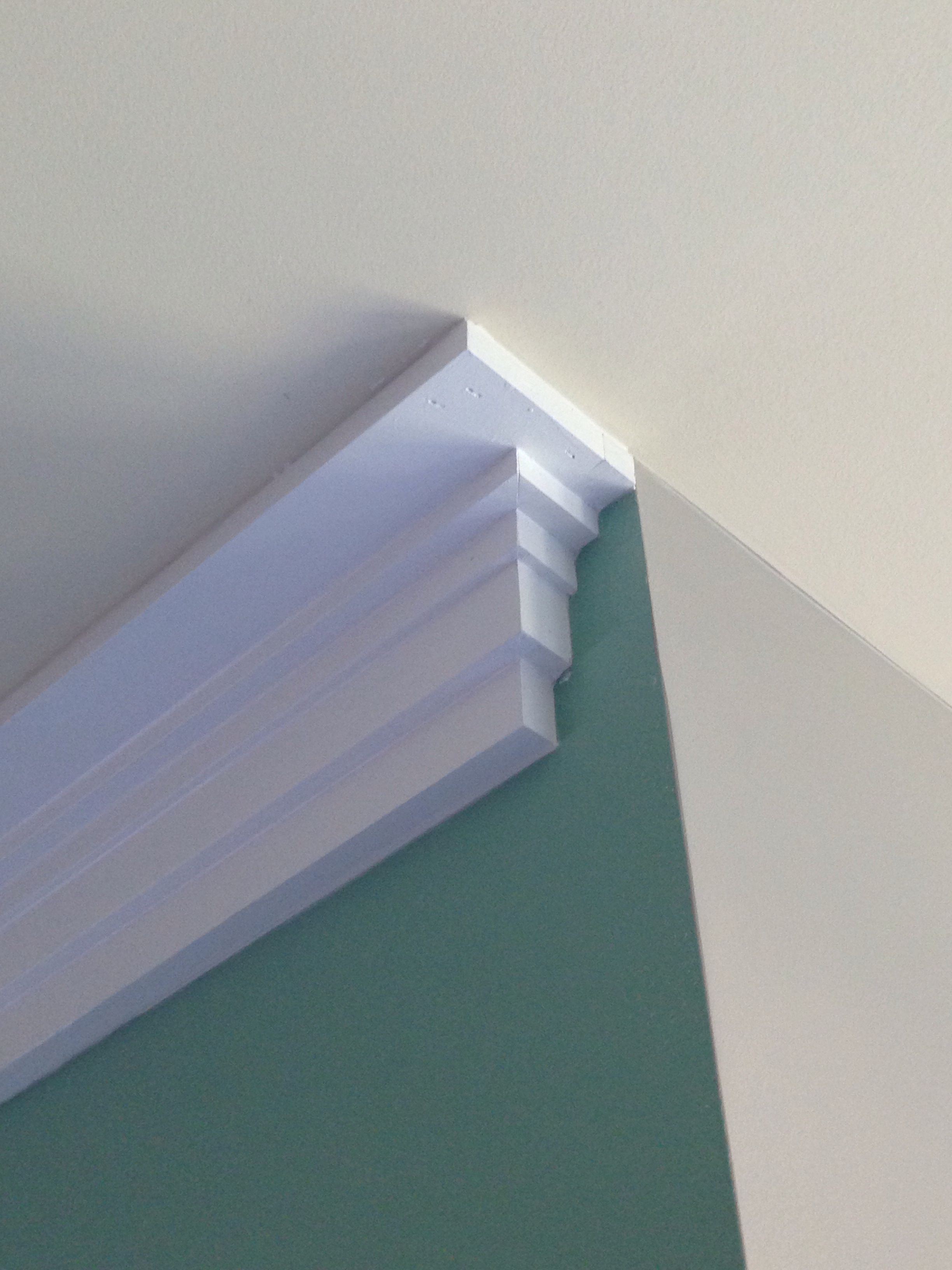 Craftsman Style Crown Molding Trim Detail My Creations
