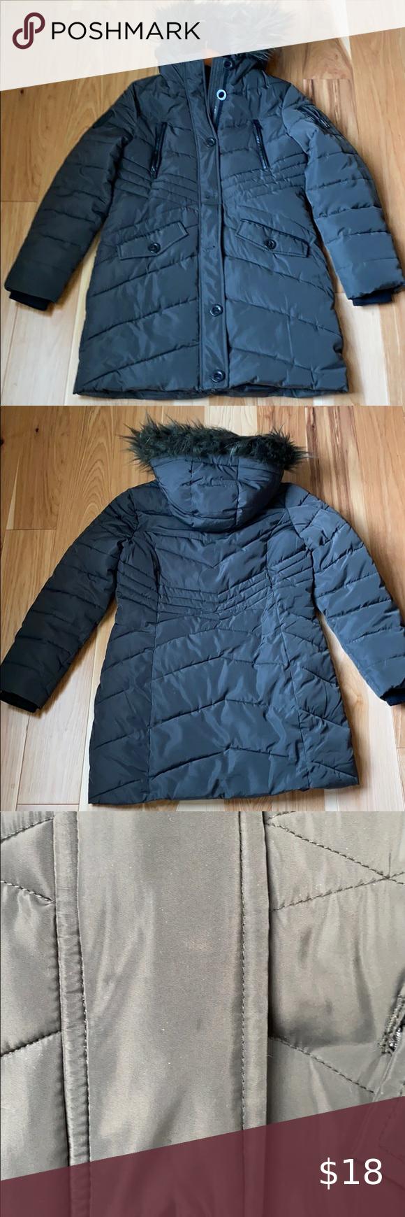 Diesel Winter Jacket Girls Winter Jackets Faux Fur Hooded Coat Black Outerwear [ 1740 x 580 Pixel ]