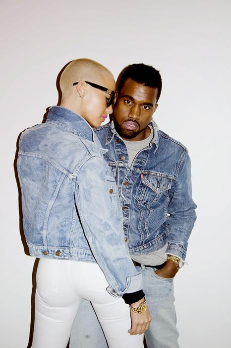 Kanye and Amber Kanye west style, Kanye and amber rose