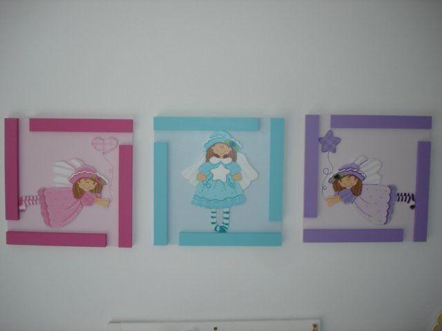 Cuadros para ni a en country imagui decoracion bebe for Cuadros habitacion bebe