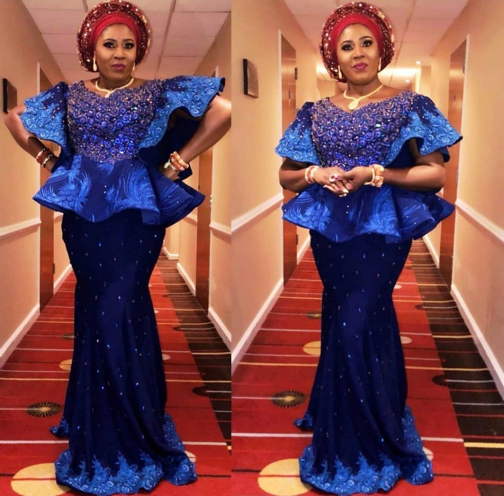 Lace Skirt & Blouse Styles For Gorgeous Madams   Hairstyles 20u ...