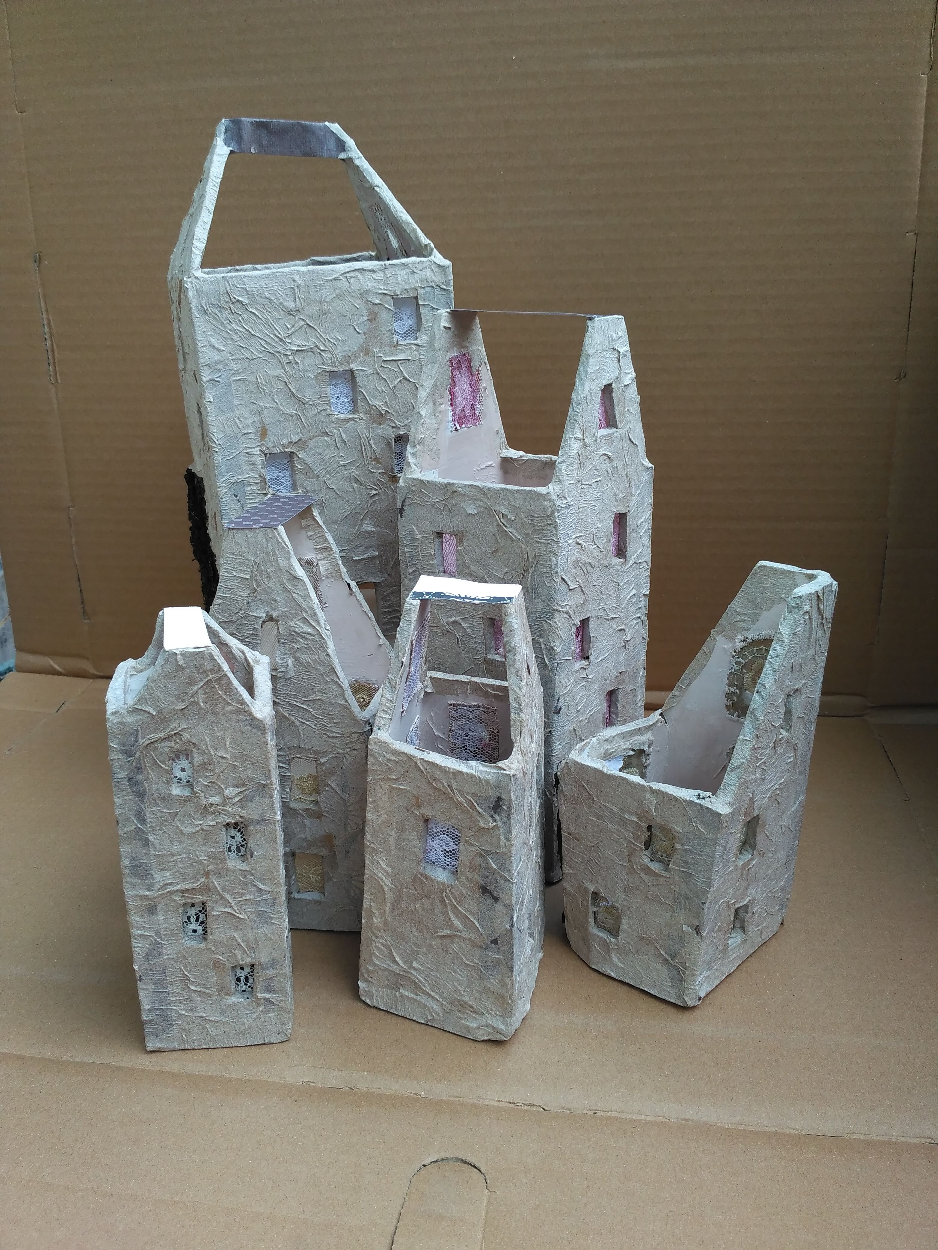 I am making a new houses. | Fairyhouses | Pinterest