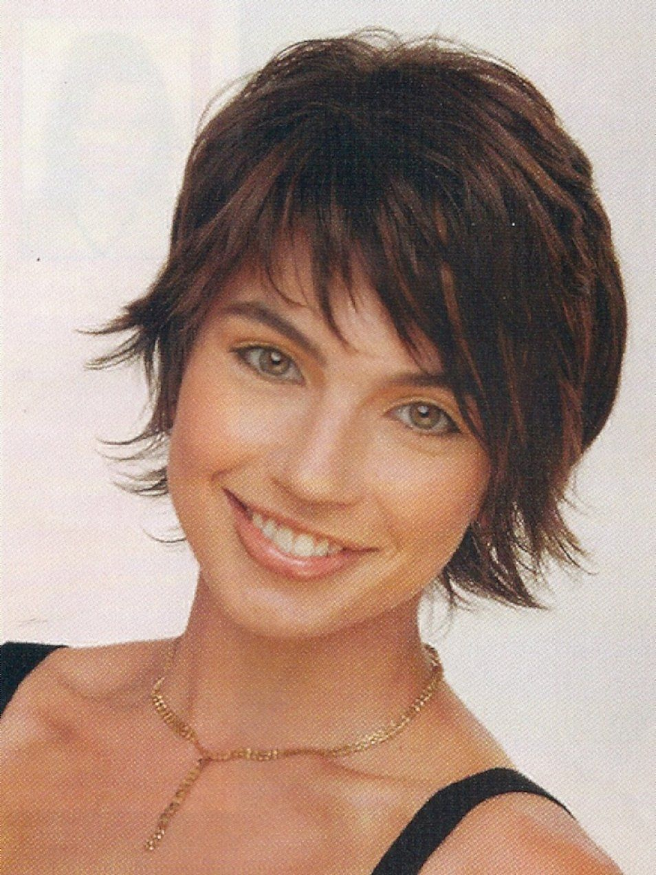 short shaggy bob with bangs | short layered shaggy hairstyles with