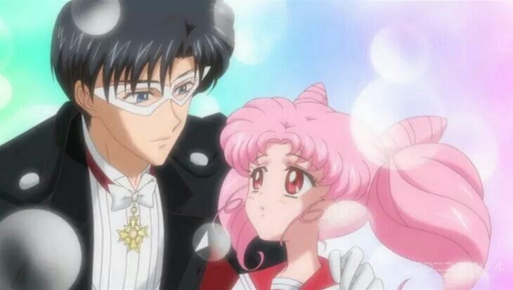 Chibiusa and her father ❤