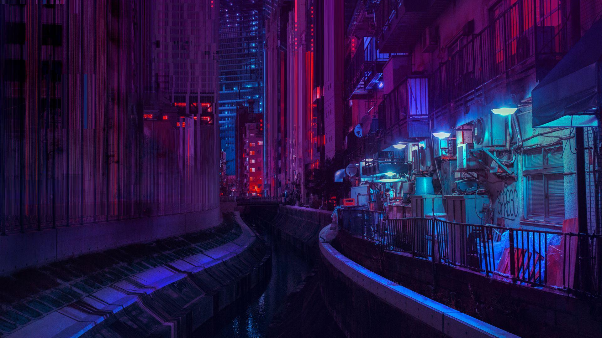 Tokyo Nights II Pursuing Rain & Neons Neon nights