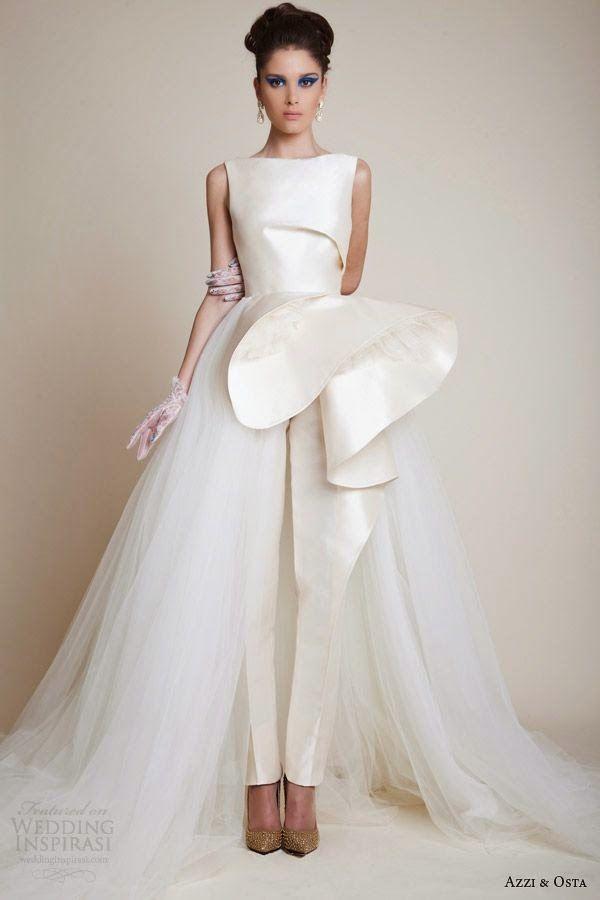 ya viene la novia: novias con pantalón | elegant brides | vestidos