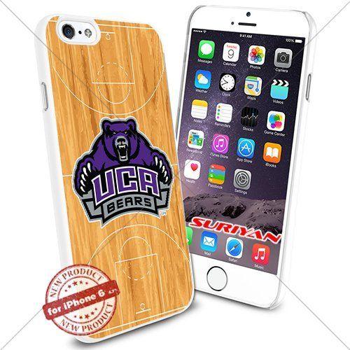 New iPhone 6 Case Central Arkansas Bears Logo NCAA #1071 White Smartphone Case Cover Collector TPU Rubber [Basketball Court] SURIYAN http://www.amazon.com/dp/B015CWTN5I/ref=cm_sw_r_pi_dp_OyJxwb1SZGSA1