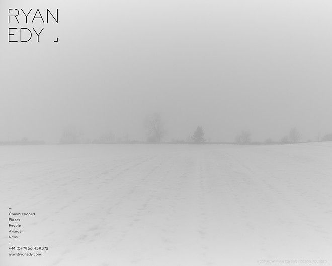 Ryan Edy - CoolHomepages Web Design Gallery