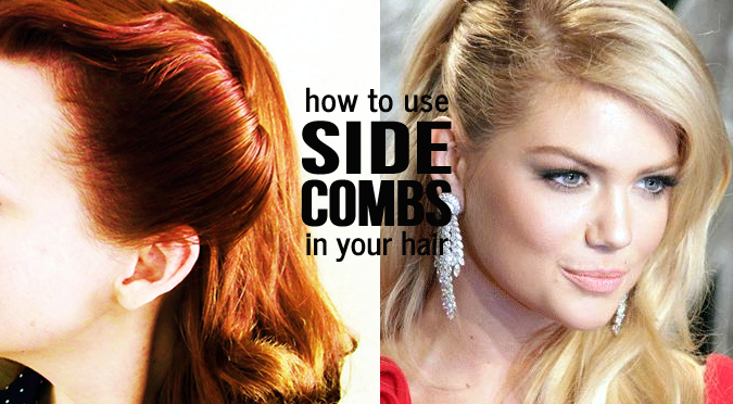 How To Use Side Combs In Your Hair Hair Stuff Side